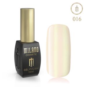Гель лак MILANO 10ml № 016 (Сверкающий беж) цена