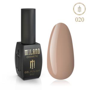 Гель-лак Milano Cosmetic 8 мл № 020 (Медный)