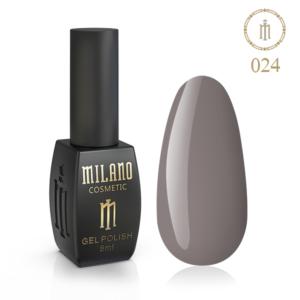 Гель-лак Milano Cosmetic 8 мл № 024 (Торфяной) цена