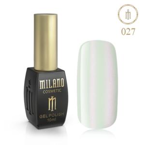 Гель лак MILANO 10ml № 027 (Жемчужно-белый) Купить