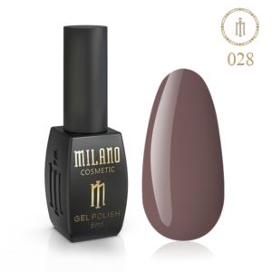 Гель-лак Milano Cosmetic 8 мл № 028 (Известковая глина) цена