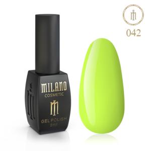 Гель-лак Milano Cosmetic 8 мл № 042 (Лайм) цена