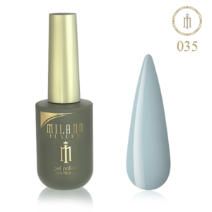 Гель лак MILANO LUXURY 15 мл № 035 (Голубой дым) купить