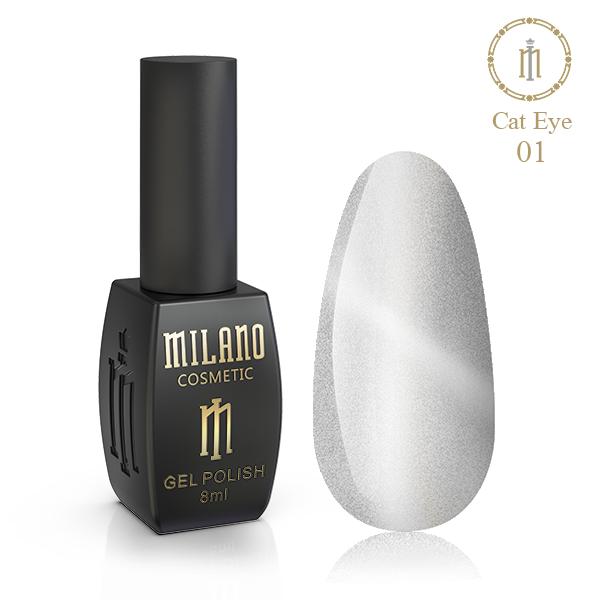 Гель лак Crystal Milano 8 мл № 01 цена