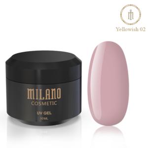Гель для наращивания Milano Yellowish-2 50 мл купить