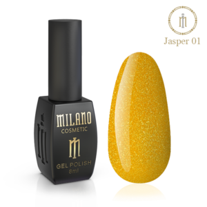Гель-лак Milano Cosmetic Jasper 10 мл № 01 (Милано Косметик Осенняя коллекция)