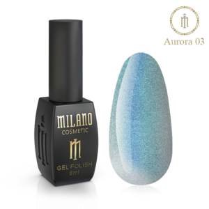 Гель-лак Milano Cosmetic Cat Eye Aurora 8 мл № 03 (Милано Косметик Кошачий Глаз Аврора)