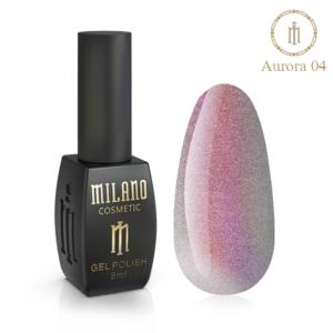 Гель-лак Milano Cosmetic Cat Eye Aurora 8 мл № 04 (Милано Косметик Кошачий Глаз Аврора)