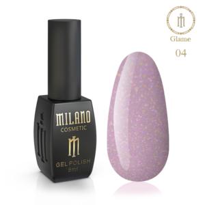 Гель-лак Milano Cosmetic Glame 8 мл № 04 (Милано Косметик Глеми)