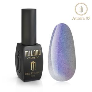 Гель-лак Milano Cosmetic Cat Eye Aurora 8 мл № 05 (Милано Косметик Кошачий Глаз Аврора)