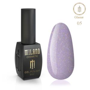 Гель-лак Milano Cosmetic Glame 8 мл № 05 (Милано Косметик Глеми)