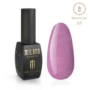 Гель-лак Milano Cosmetic Miracle 8 мл № 05 (Милано Косметик Мираж)