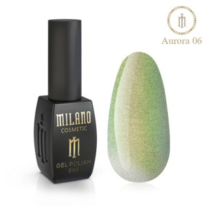Гель-лак Milano Cosmetic Cat Eye Aurora 8 мл № 06 (Милано Косметик Кошачий Глаз Аврора)