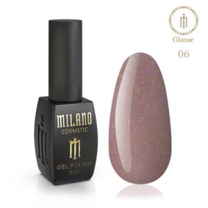 Гель-лак Milano Cosmetic Glame 8 мл № 06 (Милано Косметик Глеми)