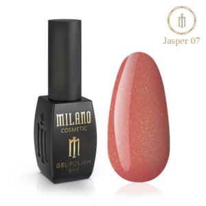 Гель-лак Milano Cosmetic Jasper 10 мл № 07 (Милано Косметик Осенняя коллекция)