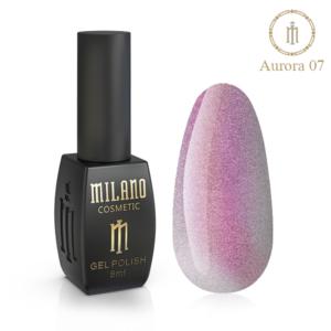 Гель-лак Milano Cosmetic Cat Eye Aurora 8 мл № 07 (Милано Косметик Кошачий Глаз Аврора)
