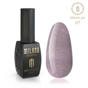 Гель-лак Milano Cosmetic Miracle 8 мл № 07 (Милано Косметик Мираж)