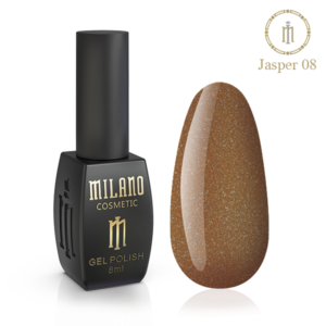 Гель-лак Milano Cosmetic Jasper 10 мл № 08 (Милано Косметик Осенняя коллекция)