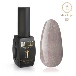 Гель-лак Milano Cosmetic Miracle 8 мл № 08 (Милано Косметик Мираж)