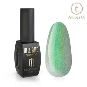 Гель-лак Milano Cosmetic Cat Eye Aurora 8 мл № 09 (Милано Косметик Кошачий Глаз Аврора)