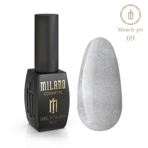 Гель-лак Milano Cosmetic Miracle 8 мл № 09 (Милано Косметик Мираж)