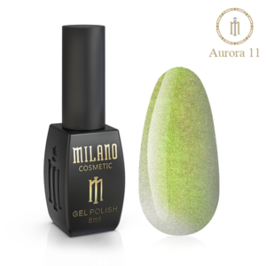 Гель-лак Milano Cosmetic Cat Eye Aurora 8 мл № 11 (Милано Косметик Кошачий Глаз Аврора)