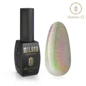 Гель-лак Milano Cosmetic Cat Eye Aurora 8 мл № 12 (Милано Косметик Кошачий Глаз Аврора)