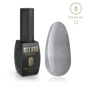 Гель-лак Milano Cosmetic Miracle 8 мл № 12 (Милано Косметик Мираж)