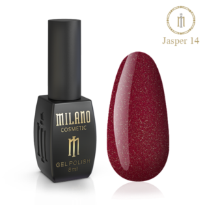 Гель-лак Milano Cosmetic Jasper 10 мл № 14 (Милано Косметик Осенняя коллекция)