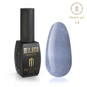 Гель-лак Milano Cosmetic Miracle 8 мл № 14 (Милано Косметик Мираж)
