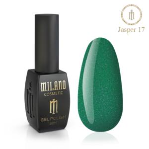 Гель-лак Milano Cosmetic Jasper 10 мл № 17 (Милано Косметик Осенняя коллекция)