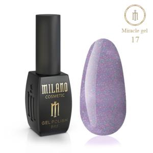 Гель-лак Milano Cosmetic Miracle 8 мл № 17 (Милано Косметик Мираж)