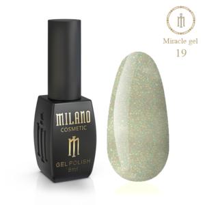 Гель-лак Milano Cosmetic Miracle 8 мл № 19 (Милано Косметик Мираж)