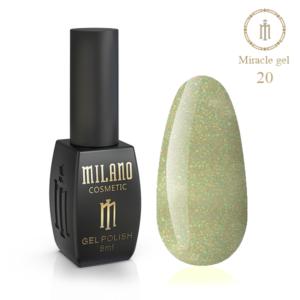 Гель-лак Milano Cosmetic Miracle 8 мл № 20 (Милано Косметик Мираж)