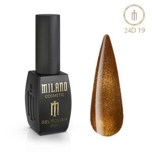 Гель лак 24D Milano 8 мл № 19 цена