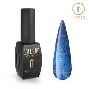 Гель лак 24D Milano 8 мл № 20 цена